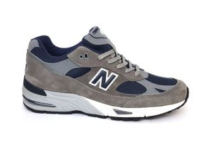 NEW BALANCE M991ANG GREY/NAVY SNEAKER UOMO RUNNING RETRO'