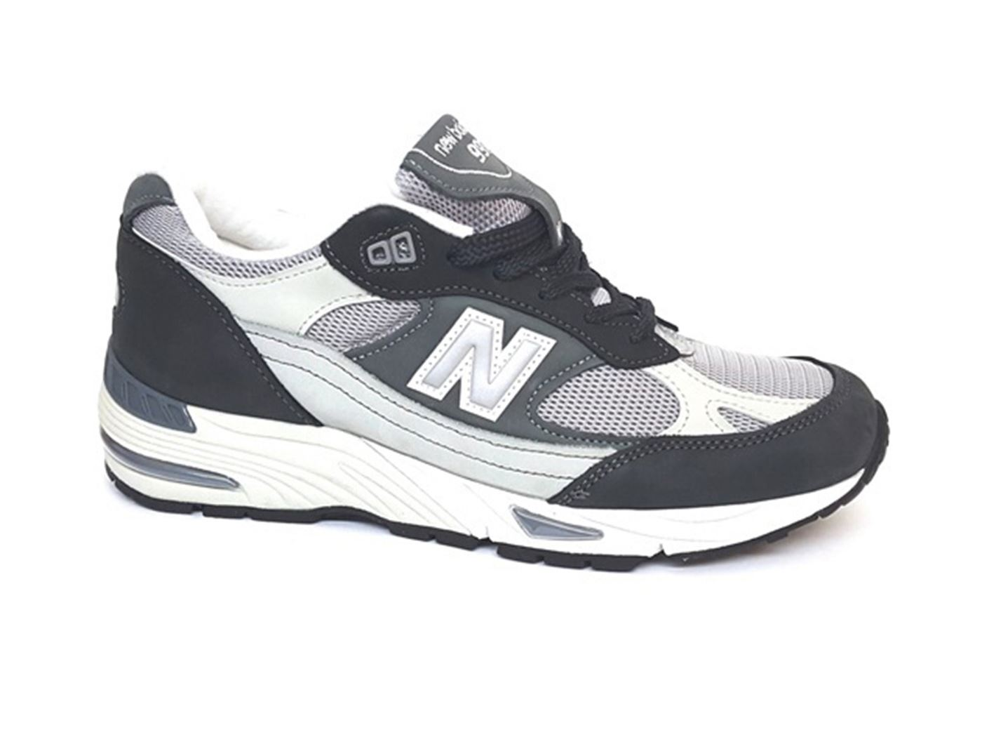 SCARPA UOMO NEW BALANCE M991NPN MADE IN UK NABUK NAVY 217