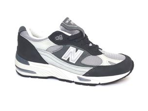 NEW BALANCE M991XG GREY/WHITE SNEAKER UOMO RUNNING RETRO'