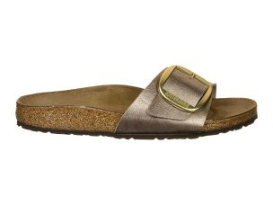 BIRKENSTOCK MADRID BIG BUCKLE GRACEFUL TAUPE SANDALO DONNA