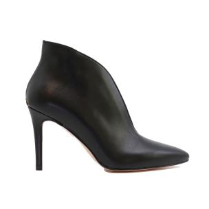 LIU JO ROSE ANKLE STIVALETTO DA DONNA IN PELLE NERA