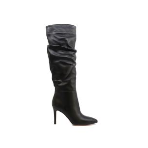 LIU JO ROSE BOOT STIVALE DONNA IN PELLE NERA