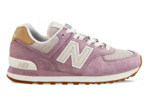 NEW BALANCE ML574CLC PIGSKIN CANVAS CASHMERE SNEAKER DONNA
