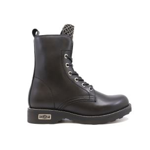 CULT 268400 ZEPPELIN MID 2684 LEATHER BLACK ANFIBIO DONNA