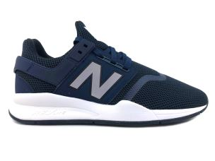 NEW BALANCE MS247FD SYNTHETIC MESH ECLIPSE BLUE SNEAKER UOMO