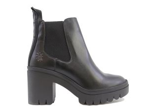 FLY LONDON TOPE520FLY STIVALETTO DA DONNA IN PELLE NERA