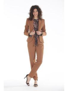 Pantalone lungo con fiocco davanti