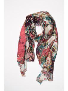 Foulard stampa multicolor