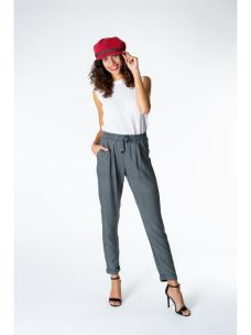 Pantaloni Jogger fantasia geometrica