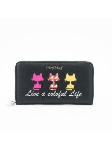 """Portafoglio """"Live a colorful life"""""""
