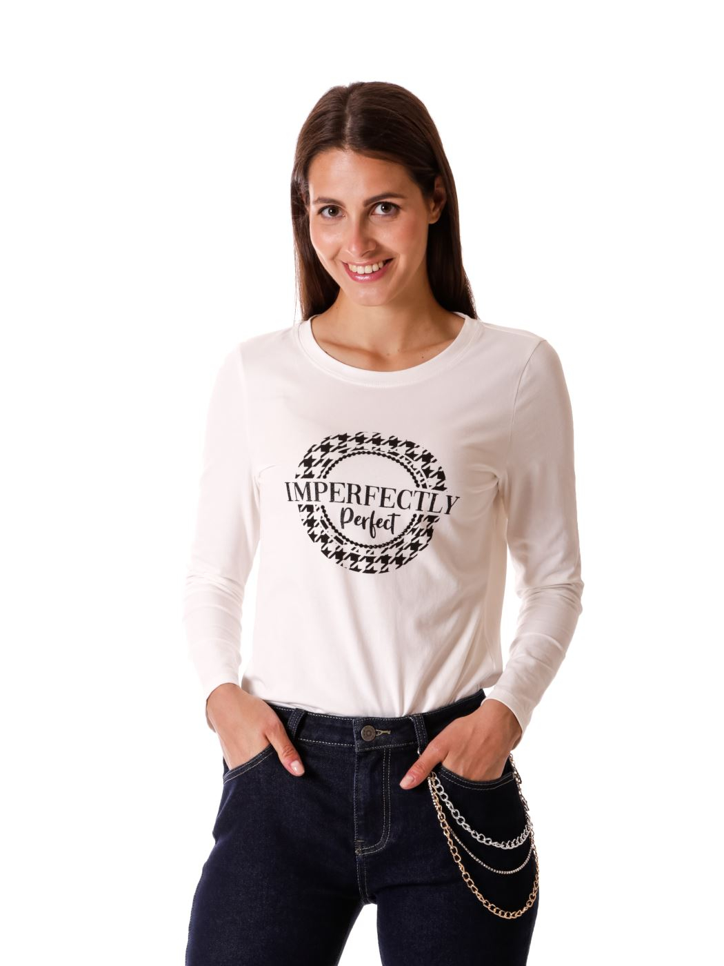 "T-shirt ""imperfectly Perfect"""