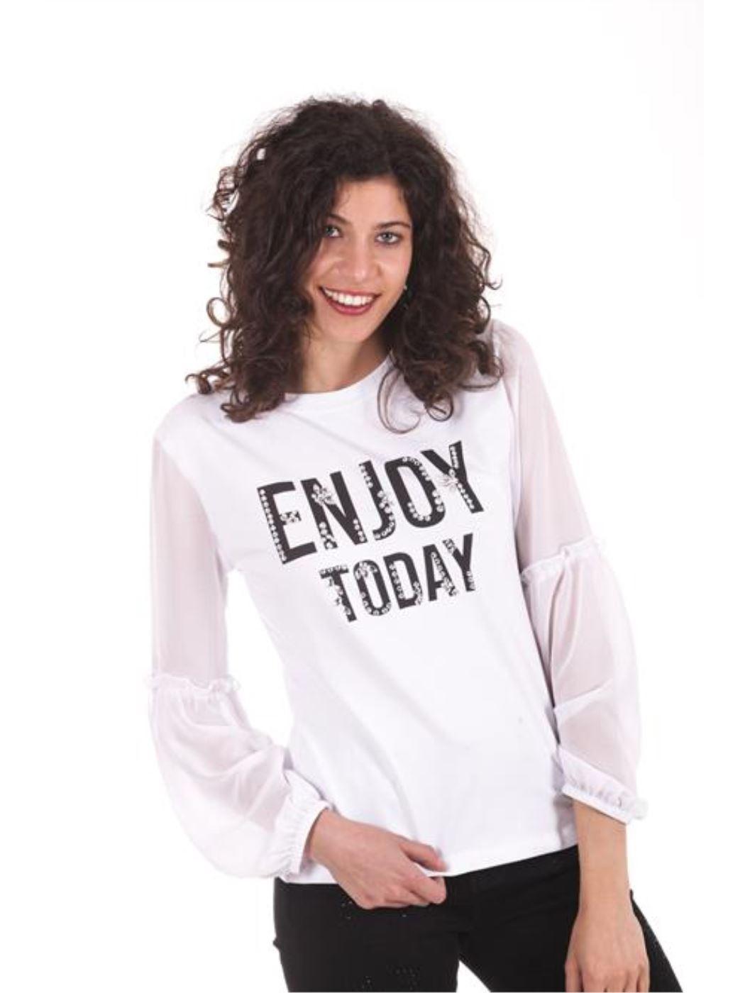 "T-shirt ""Enjoy today"""