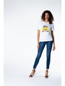 T-shirt macchina