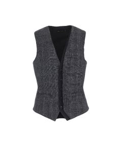 GILET IMPERIAL FANTASIA CHECK