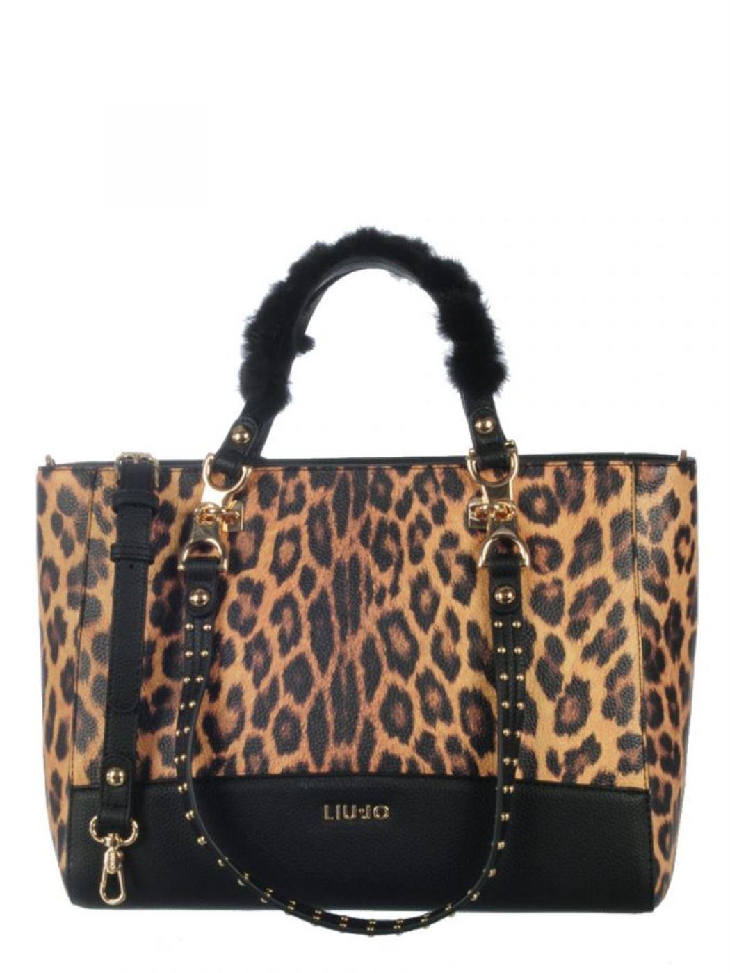 Liujo shopping bag maculata A69095E0419