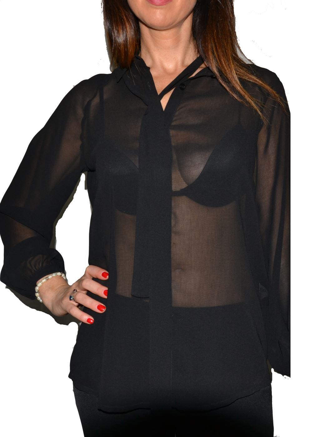 Liujo camicia in georgette W69018T0110