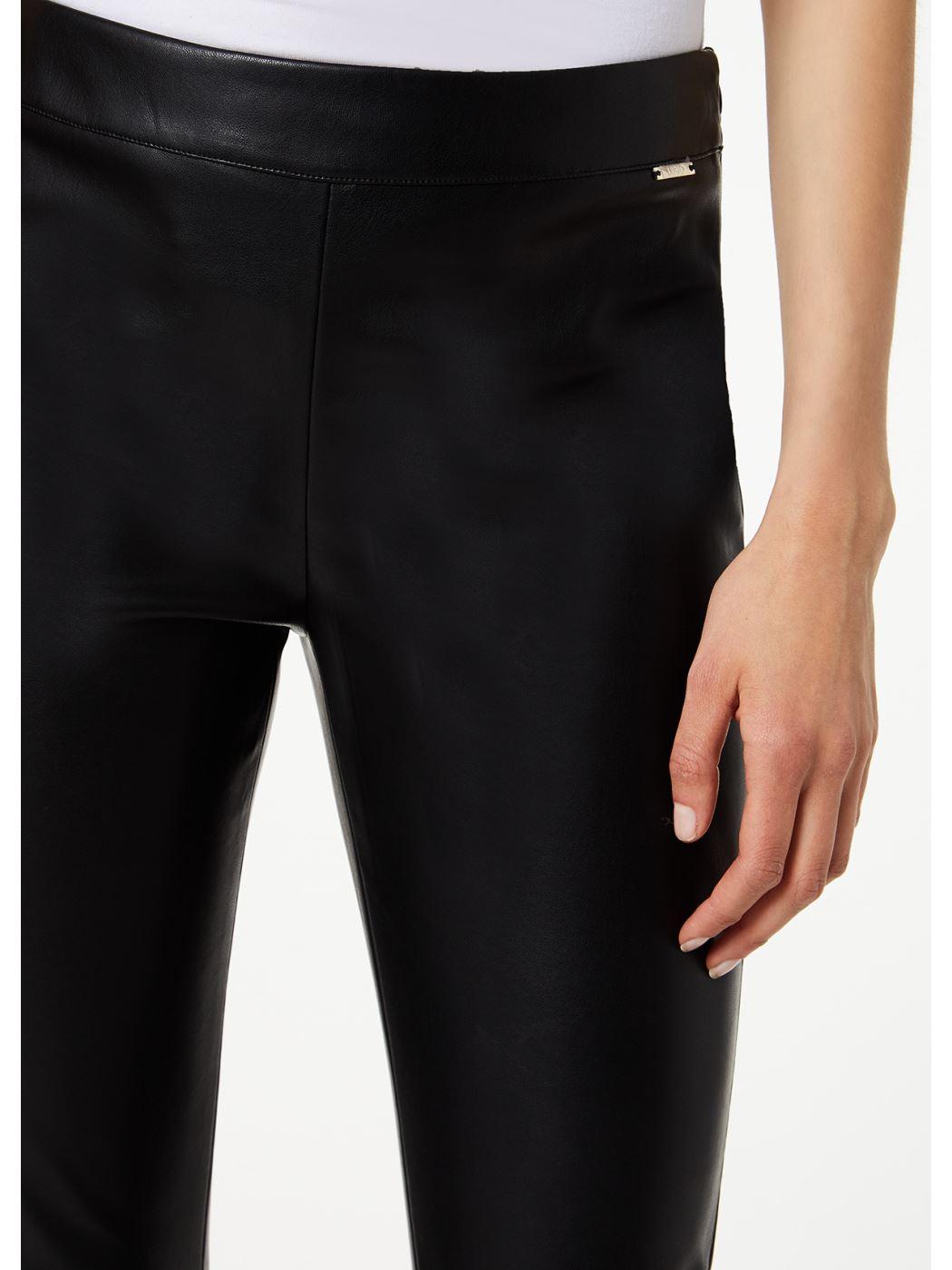 Liujo pantalone spalmato leggins  W69037E0624
