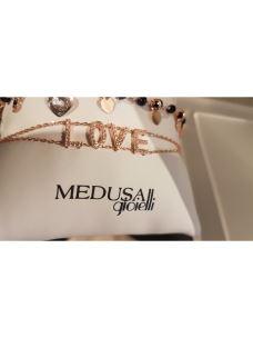 MEDUSA GIOIELLI Bracciale con lettering LOVE  265015
