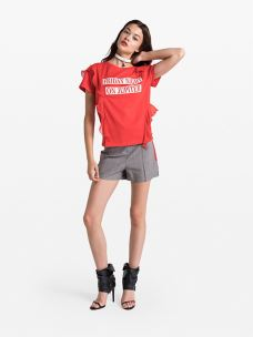 patrizia pepe t-shirt stampata in jersey 2J2219-A4XM