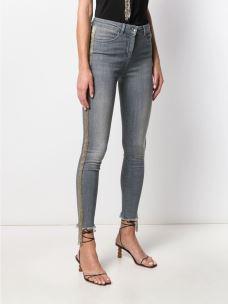Jeans skinny con ricami di perline 2J2302A752