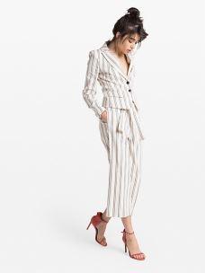Patrizia pepe pantalone lino 2P1148/A3LL