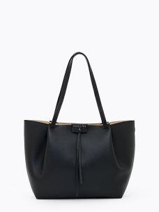 patrizia pepe borsa shopping in pelle 2V8895-A4U8