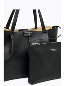 PATRIZIA PEPE borsa shopping in pelle 2V8895-A4U8-1
