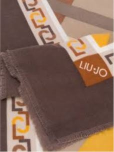 LIUJO Foulard in tessuto fluido  moro light 369085T0300-3