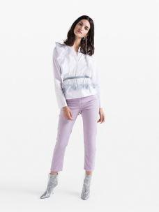 patrizia pepe camicia con rouches 8C0283-A01