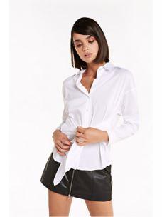 patrizia pepe camicia con nodo 8C0335A23