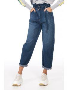 Jeans Balloon in denim di cotone 8J0877A1WZ