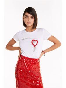 PATRIZIA PEPE T-shirt bianca 8M1014A4V5