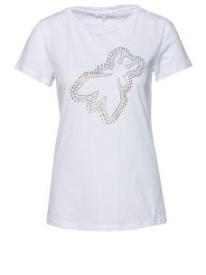 PATRIZIA PEPE T-shirt bianca 8M1016A4V5