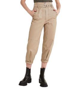 PATRIZIA PEPE Pantalone con maxy tasche 8P0298AN131