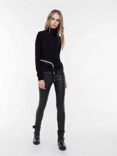 patrizia pepe pantalone slim fit BP0440-A286