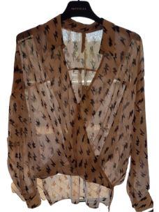 IMPERIAL camicia con chiusura a portafoglio CJF4AIH