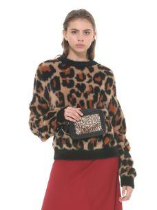 SILVIAN HEACH Maglione leopard print CVA19224MA