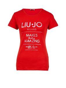 LIUJO T-SHIRT MILANO F19074J5003