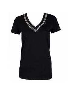 Liu jo t-shirt strass F19189J7821