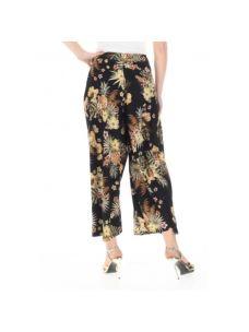 LIUJO pantaloni cropped di raso FA0429T4031