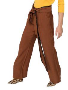 SILVIAN HEACH Pantalone morbido con pences PGP20593PA