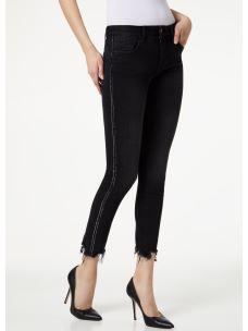 Liujo jeans skinny con orlo unfinished U69001D4371