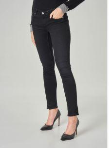 LIU JO Jeans cinque tasche skinny a vita media U69012D4370