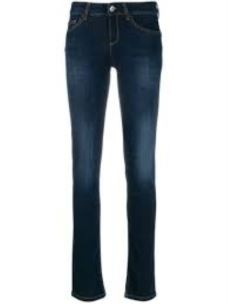 jeans a vita alta U69016D4367