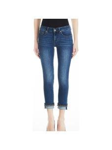 Jeans casual-street a vita bassa con strass  UF0006D4186