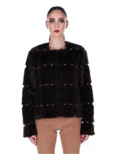 liujo cappotto in ecopelliccia  W69125E0621