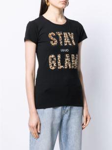 Liujo t-shirt stay glam W69260J5003