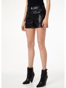 liujo shorts in tessuto spalmato  W69291E0624