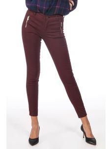 LIU JO  pantalone stretch con doppie cuciture W69358T8191-X0201