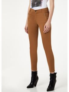 LIU JO pantalone stretch con doppie cuciture W69358T8191-XO193